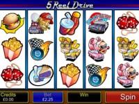 5 Reel Drive Touch Screenshot