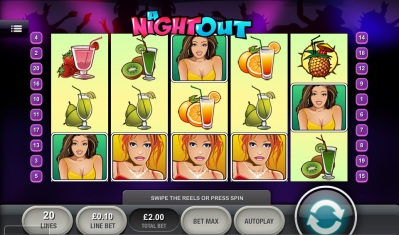 A Night Out Touch Screenshot