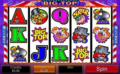 Big Top Touch Screenshot