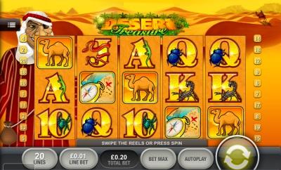 Desert Treasure Touch Screenshot