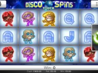 Disco Spins Touch Screenshot
