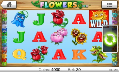 Flowers Touch Screenshot