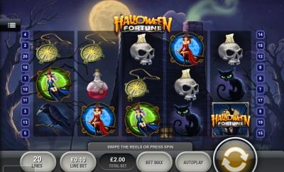 Halloween fortune Touch Screenshot