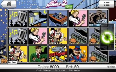 Jack Hammer 2 Touch Screenshot