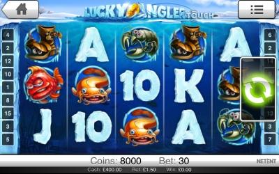 Lucky Angler Touch Screenshot