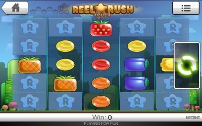Reel Rush Touch Screenshot