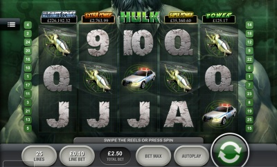 The Incredible Hulk Touch Screenshot