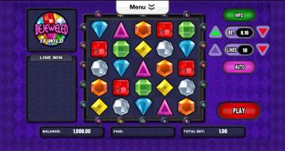bejeweled screenshot