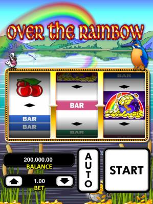 Over the rainbow screenshot