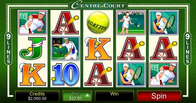 centre court screenshot