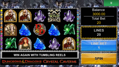crystal caverns screenshot