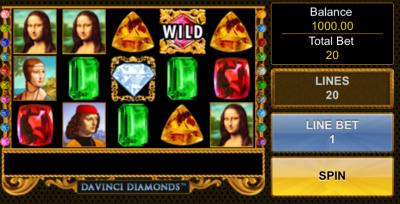 da vinci diamonds screenshot