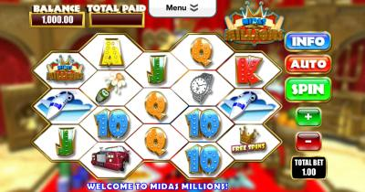 midas millions screenshot