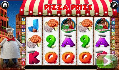 pizza prize screnshot