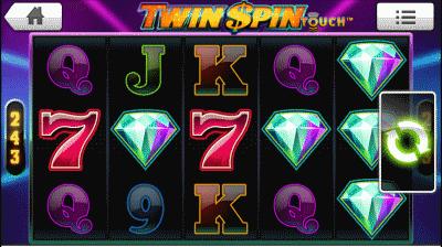 twin spins screenshot