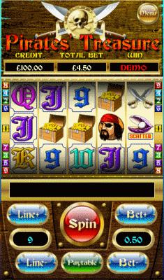 Pirates Treasure screenshot
