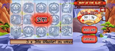 Way of the slot screenshot