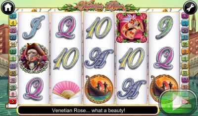 venetian rose screenshot