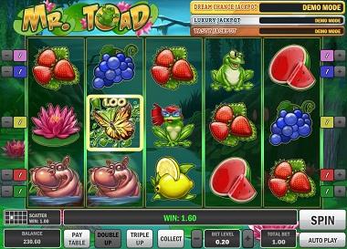 Mr Toad Screenshot
