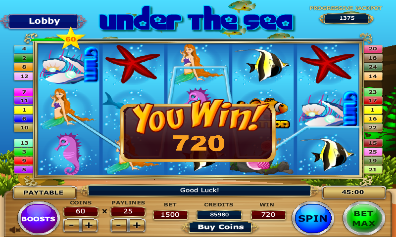 Under The Sea Slot Review